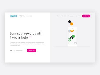 Perks — Revolut Website
