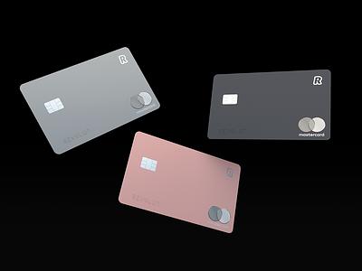 Revolut Premium Cards revolut premium cards bank card silver space gray rose gold 3d 3d render cinema4d mastercard minimal card plastic card credit card bank banking bank app app