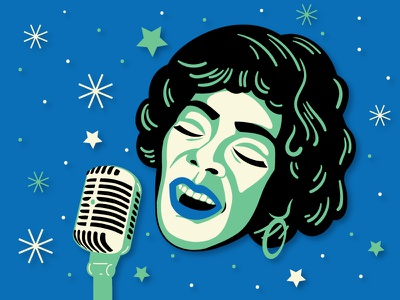 Homeaway  performer woman open mic famous microphone jazz singer