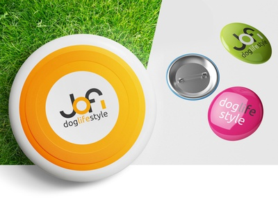 JOFI DOGLIFESTYLE graphic design website vector minimal typography web logo design branding