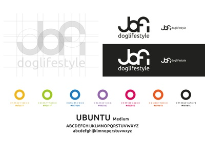 JOFI DOGLIFESTYLE minimal typography graphic design website web vector logo design branding