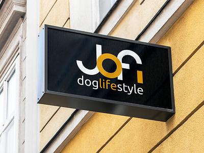 JOFI DOGLIFESTYLE typography minimal graphic design website web vector logo design branding