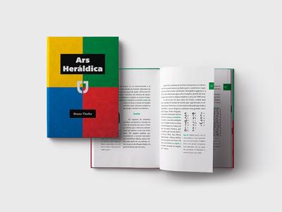 Ars Heraldica magazine graphic grid design grid editorial book