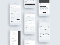 Tiny Owl | Online Food Ordering App Wireframe Kit