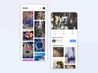 Pixo | Image Gallery UI