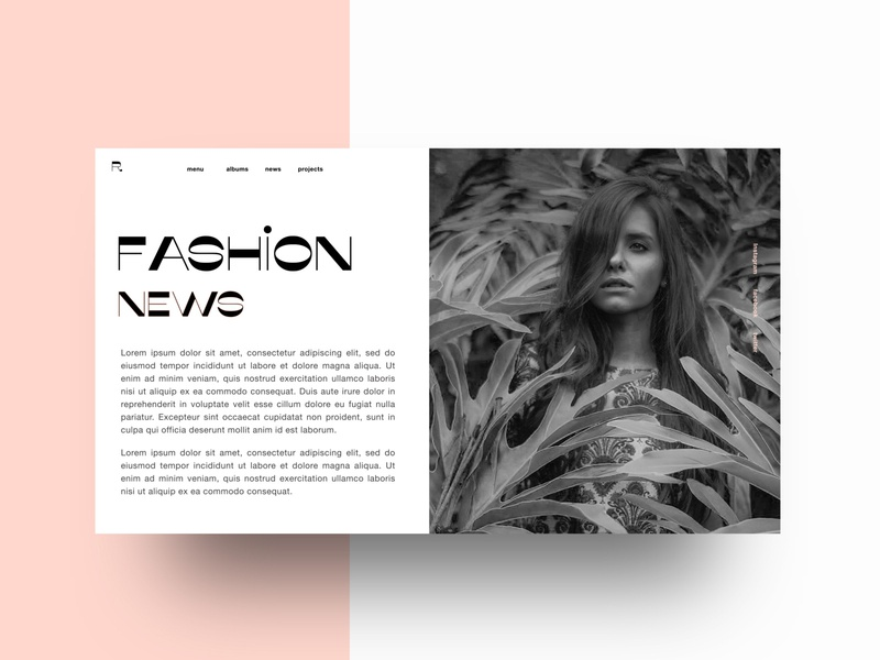 Fashion News Page