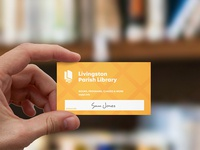 Library Card Design