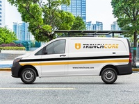 Van Mockup for Construction Company