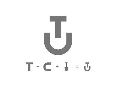 Shovel Logo Symbol graphic design branding brand identity icon symbol typography illustration logos logo design logo