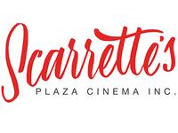 Scarrette's Plaza Cinema Logo