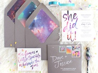 Galaxy Graduation Announcements