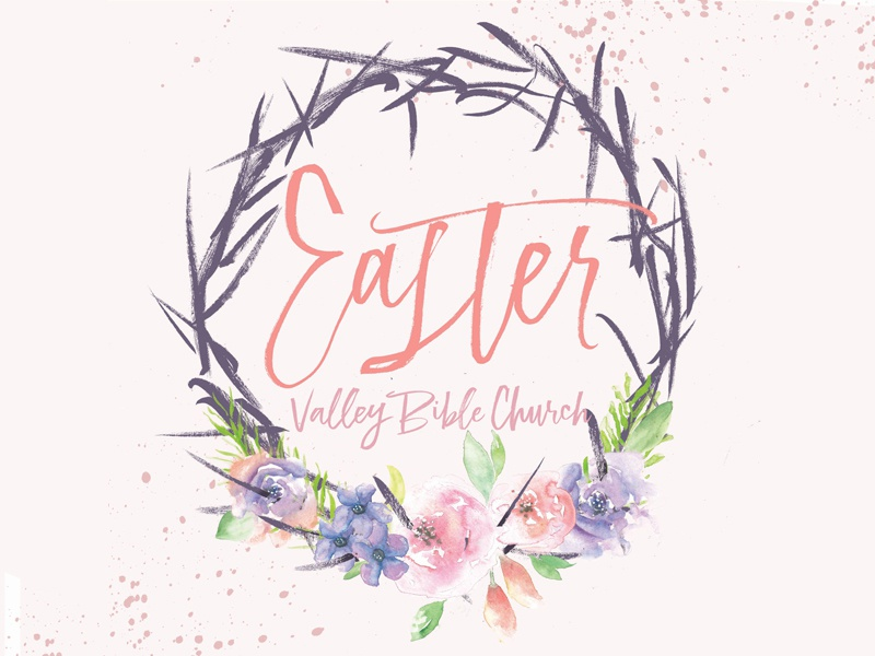Easter Artwork brush lettering typography hand lettering lettering watercolor