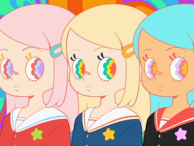 Kawaii Schoolgirls