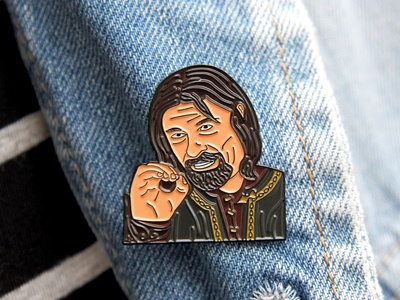 """One does not simply..."" Boromir enamel pin"