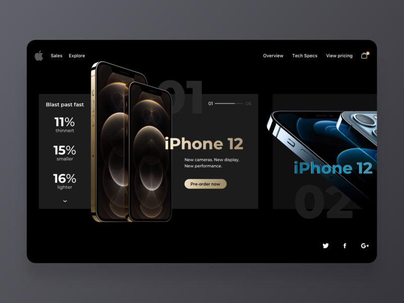 iPhone 12 Product Page Design iphone 12 max debut product free simple dark ui dark new iphone website concept branding mobile app design minimal product design app iphone12 iphone apple interface