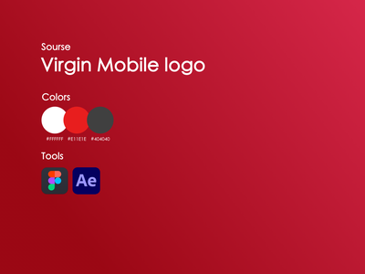Virgin mobile home page product branding logo abstract debut mobile clean design website concept website design webdesign website product design interface animation