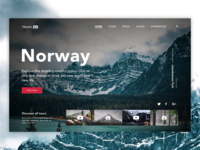 Travel UA website homepage