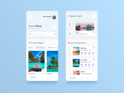 Travel App Concept creative product page clean cards hotels travel ui  ux mobile app product design interaction minimal mobile concept app color ux ui