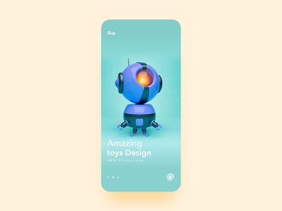 Toys Shop App notifications onboarding profile page profile team galery product design mobile app toys app colors yellow green mobile concept cards ecommerce shopping children games