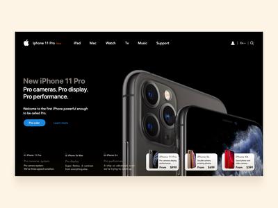 iStyle website debut free principle animation clean web black apple simple dark iphone design iphone 11 iphone web design webdesign website interface product design design
