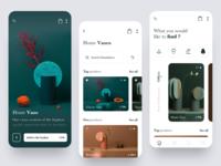 Interior Shop Mobile App Design