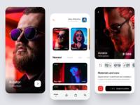 Mobile app glasses shop