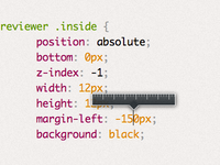 Mystery upcoming project UI detail: Length preview
