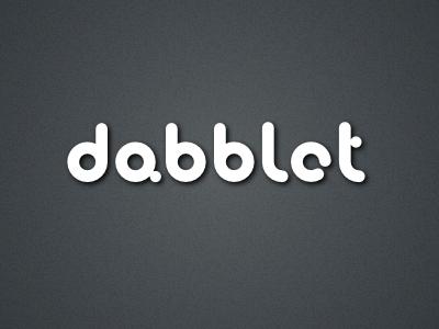 Logo for dabblet.com logo dabblet