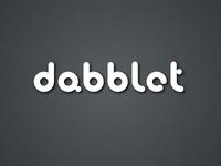 Logo for dabblet.com