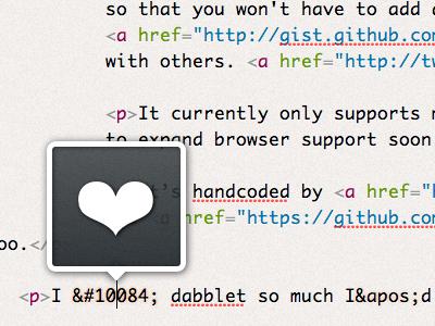 dabblet v1.1: Entity preview dabblet ui