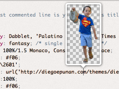 dabblet v1.1: URL previewer dabblet ui