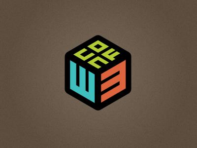 W3Conf logo concept with improved legibility logo