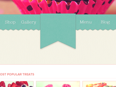 Homepage / Navigation / Ribbon