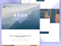 Kogo Landing Page