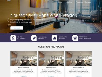 Real estate web design web design ui ux webdesign real estate