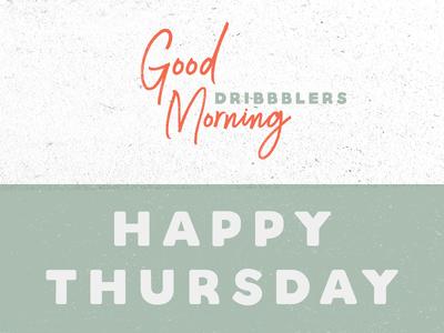 Happy Thursday! texture type practice