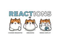 Reaction kitties