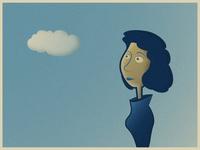 Lady cloud