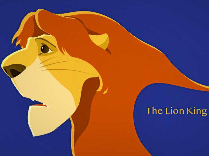 My Fan Art Of The Lion King By Tao Mao On Dribbble