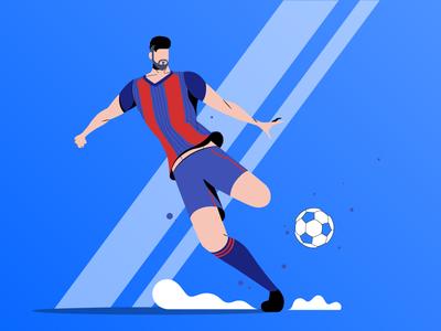 Football Illustration 01