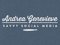 Andrea Genevieve Logo
