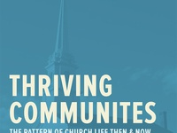 Thriving Communities Book Cover
