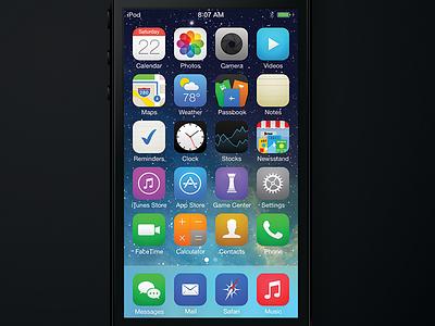 iOS 7 Icons ios icons