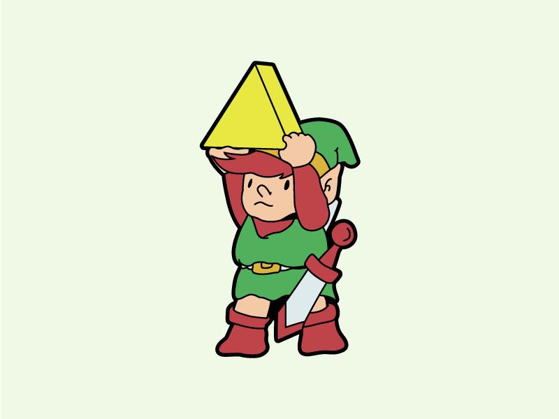 Little Link retro illustration link