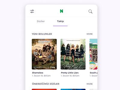 Necrols - Series app movie app design home page design page design design modern free design series app design series app necrols