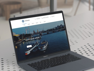 Compmarine LTD - Web site redesign