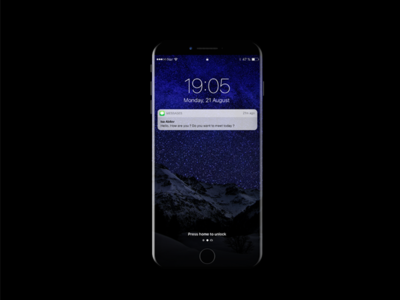 Iphone X Mockup FREE PSD