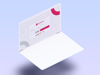 Buket.al Payment Page Web/App buket payment pay mockup app design psd page widget ux design ui design