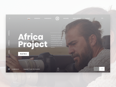 Engin Altan Duzyatan - Turkish actor site redesign ui africa enginaltanduzyatan turkish actor turkish highlights ux design dribbble app design illustration design page design ui design redesign web after effects animation after effect actress actor 2019