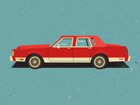 Slab Lincoln 1989